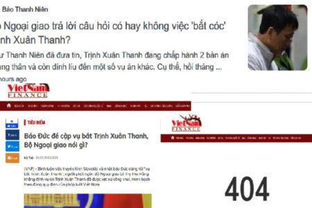 Hé lộ thông tin: Trịnh Xuân Thanh sẽ trở lại Đức