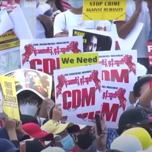 Vietnam and three other countries succeeded in preventing the UN from seriously criticizing Myanmar?