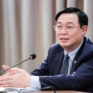 Who will succeed Hanoi Secretary Vuong Dinh Hue?