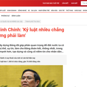 "After a billion-dollar business with China, going-to-be-Prime Minister Pham Minh Chinh ""swings his sword"" to threaten his subordinates?"