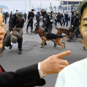 Công an Việt Nam sẽ bắn hay không bắn vào người dân biểu tình?