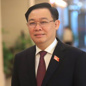 Are Vietnamese people surprised as Vuong Dinh Hue elected to become legislator's chief?