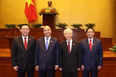 What international community thinks about Vietnam's new leadership?