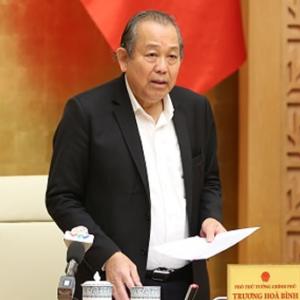 Ông Nguyễn Phú Trọng muốn trao ghế phó Thủ Tướng thường trực cho ai nếu Trương Hòa Bình rút đi?