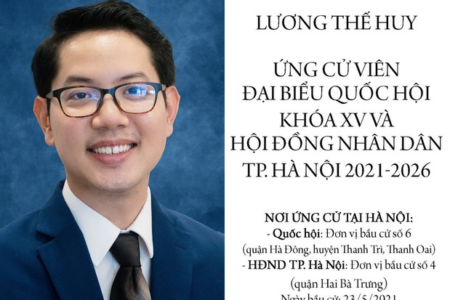 For the first time in history of Vietnam's parliament election, a candidate openly admits his homosexuality