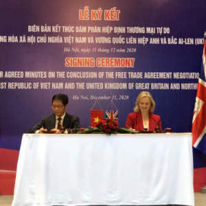 The UK-Vietnam FTA officially comes into effect