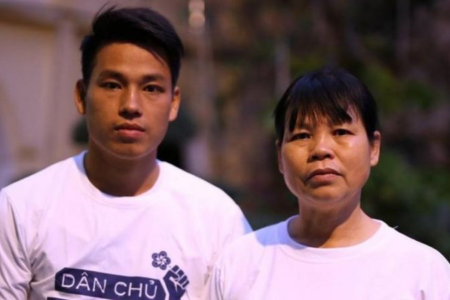 Vietnamese court sentences HRDs Can Thi Theu and her son to 8 years in prison each
