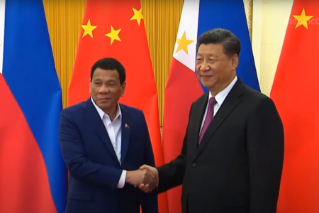 Relations with China – lessons from Philippines