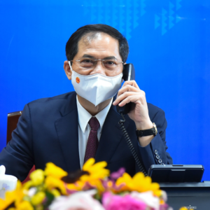 US and Vietnamese Foreign Ministers talk by phone