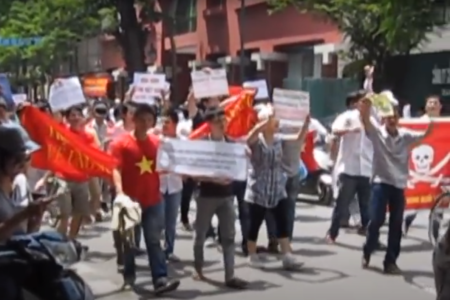 Vietnam's civil society movement from anti-China protests in 2011 summer