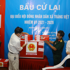 Vietnam: Communal chairman conducts election fraud, more than 1,000 residents go for the second election