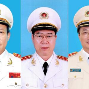 Vừa tham gia đảng bộ công an khóa mới, Nguyễn Phú Trọng liền tống khứ 3 tướng công an