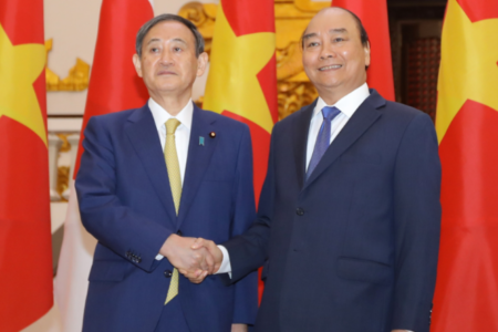 Vaccines and strategies to maintain Japan's influence in Vietnam