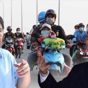 Lời thăm hỏi của Tổng Trọng đến Thành Phố Hồ Chí Minh và cuộc tháo chạy của người dân