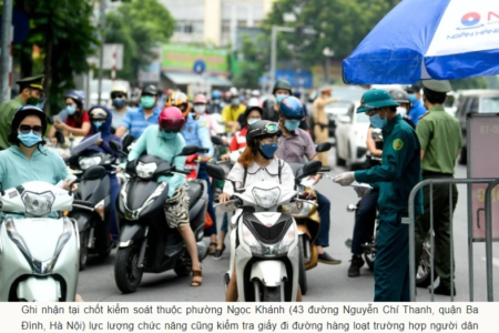 Hanoi authorities' requirements about travel documents causes concern of infection raising