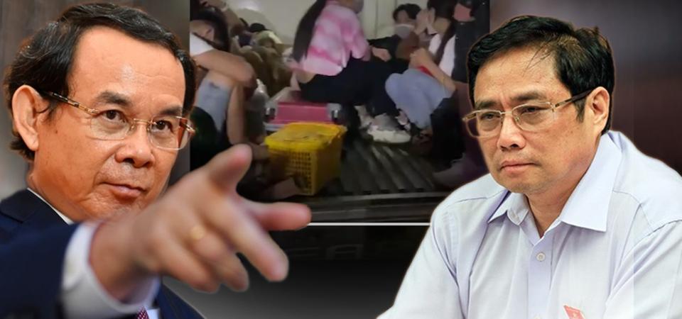 Thủ tướng kinh hãi – 15 người Việt vượt chốt trong thùng đông lạnh