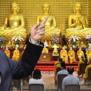 Việt Nam chống dịch bằng tâm linh – Vắc-xin Nanocovax tổ chức lễ cầu nguyện