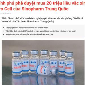Từ vắc xin đến nhà thầu và thương lái Trung Quốc