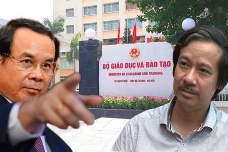 """Đường quyền đầu tiên của bộ trưởng Nguyễn Kim Sơn là cú """"tự đánh vào mặt"""""""
