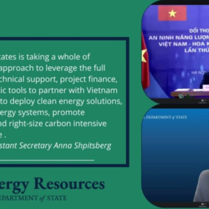 US and Vietnam hold 3rd Energy Security Dialogue